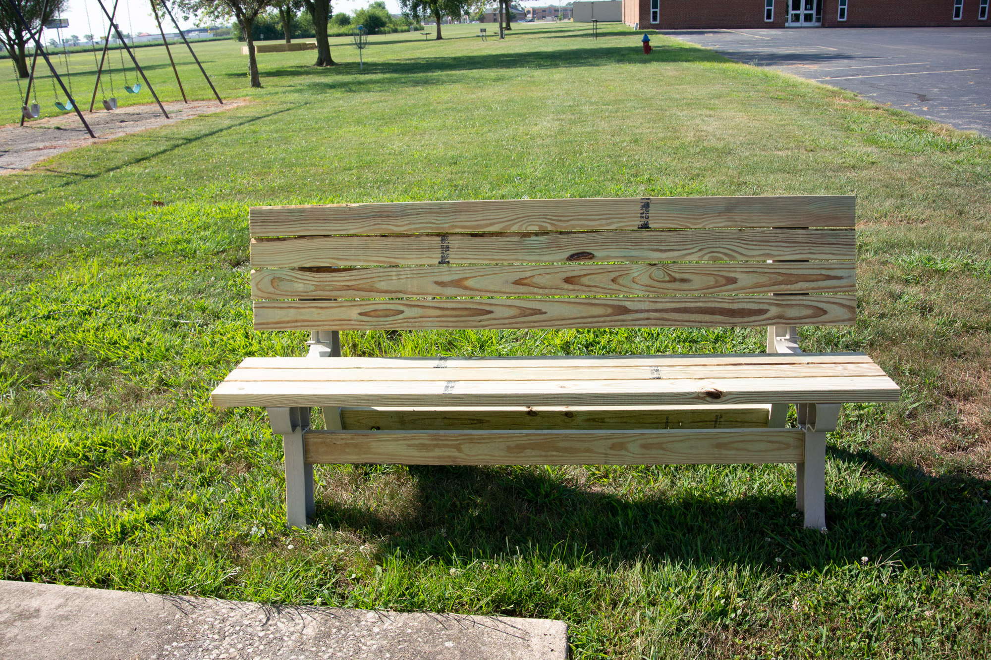 The First Compleded Bench